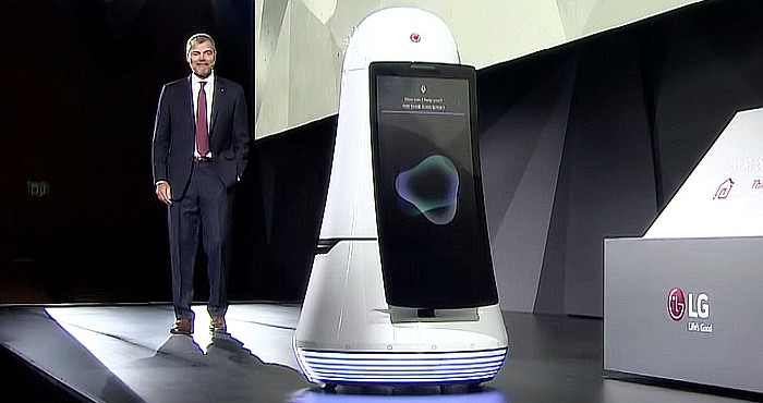 LG's Airport Robots Delivers a Positive and Helpful Level of Technology